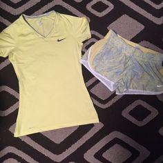 Medium Nike top and shorts. Like NEW Medium Nike top and shorts. Like NEW Nike Other