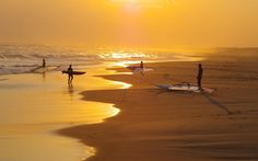 Playas hermosas, atardeceres de ensueño.
