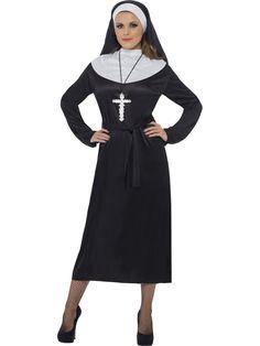 Apáca jelmez tartalmazza a ruhát, fityulát és övet. Ajánljuk minden jelmezes rendezvényre, farsangra. Kínálatunkban férfi párját is megtalálod, így kitűnő választás lehet ha össze szeretnétek öltözni!