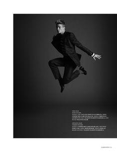 Baptiste Radufe, Jesse Shannon, Nicola Wincenc, Terron Wood & Tommy Kristiansen by Andrew Weir for Fashionisto Winter/Spring 2012