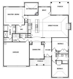 Prime Open Floor Plan For Ranch Style Homes Bill Beazley Floor Largest Home Design Picture Inspirations Pitcheantrous