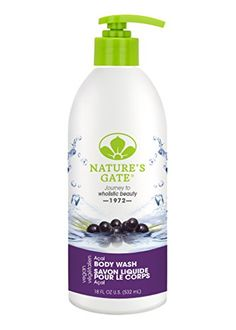 Natures Gate Acai Velvet Moisture Body Wash 18 Ounce -- Be sure to check out this awesome product. (Note:Amazon affiliate link)