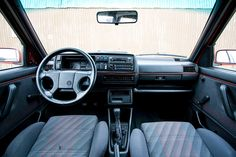 1991 VW GTI interior...exact interior of my 91 GTI,cant remember red trim on doors and dash though.