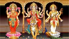 Everything you ever wanted to know about major hindu festival Dussehra. The myths,traditions and spirituality behind DUrga Puja is unrevealed. Bow your heads before Goddess Durga,this is the time when she visits us. Durga Puja, Saraswati Stotram, Chaitra Navratri, Navratri Festival, Happy Navratri, Indian Goddess, Goddess Lakshmi, Lakshmi Images, Durga Images