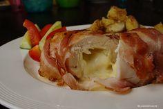 Met deze gevulde kipfilet met brie en spek zet je heel eenvoudig een culinaire verrassing op tafel!