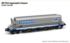 PHA Hopper Wagon (Foster Yeoman)  by Michael Gale