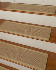 Shop for hand crafted ready to ship Temperley Carpet Stair Treads made by Artisan Rug Makers at Natural Area Rugs. Free Same Day Shipping!