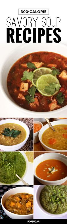 Warm Up With These 300-Calorie Bowls of Homemade Soup