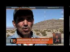 CHILE: Lucha en la Frontera, Inmigrantes  hacen todo por entrar a CHILE