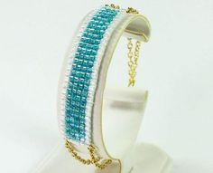 New to square stitching? Follow this Square Stitch Bracelet Tutorial to dip your toes into this fantastic beading technique.