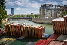 The Bouquinistes of Paris are booksellers of used and antiquarian books who ply their trade along large sections of the banks of the Seine: on the right bank from the Pont Marie to the Quai du Louvre, and on the left bank from the Quai de la Tournelle to Quai Voltaire. The Seine is thus described as 'the only river in the world that runs between 2 bookshelves'.  The tradition of the second-hand booksellers began around the 16th century with little market peddlers. Under pressure from…