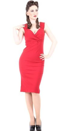 STEADY CLOTHING - DIVA DRESS IN RED