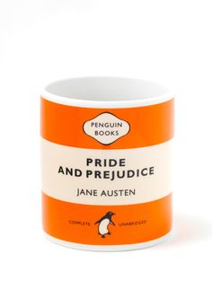 Penguin Mug: Pride and Prejudice (Orange)