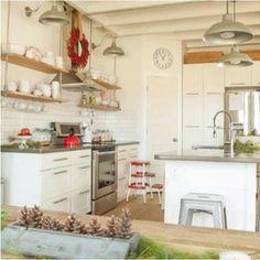 Kitchen with christmas theme ♥