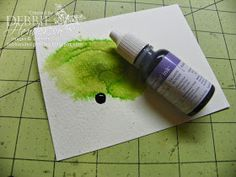 Debbie's Designs: Ink Spreading Technique!