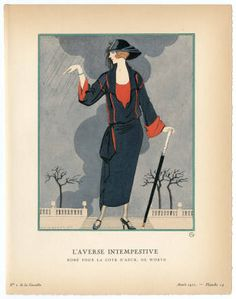 """Women 1922, Plate 003. Fashion plates, 1790-1929. The Costume Institute Fashion Plates. The Metropolitan Museum of Art, New York. Gift of Sally Victor (b17509853) 