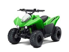 New 2016 Kawasaki KFX 50 ATVs For Sale in Florida. 2016 Kawasaki KFX 50, 2015 Kawasaki KFX®50 When young riders age 6 years and older are looking to start riding ATVs with the rest of the family, they need look no further than the 2015 KFX®50. With an environmentally friendly, air-cooled, four-stroke engine balanced on a wide 27.6 stance, Kawasaki s introductory ATV helps young riders build a solid foundation for years of safe riding. And Kawasaki engineers also included intelligent…