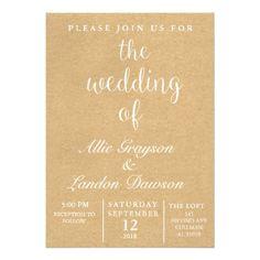 #wedding - #Rustic Wedding Invitation