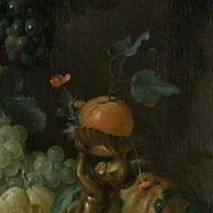 Stilleven met vruchten, Coenraet Roepel, 1721 - Desktop pictures-Verzameld werk van Sasan Mahmoudi - Alle Rijksstudio's - Rijksstudio - Rijksmuseum