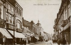 Farmecul Gala�iului: parfumul t�rgului de alt�dat� Old Pictures, Street View, Country, Places, Dan, Live, Pictures, Rural Area, Old Photos
