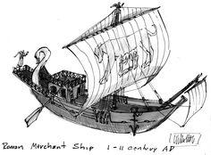 roman era merchant ship