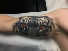 cool 60 Awe-inspiring Tiger Tattoo Ideas - Take a Great Pride In Check more at http://stylemann.com/best-tiger-tattoo-ideas/