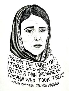 Jacinda Ardern Drawing - X Moving To New Zealand, When Life Gets Tough, March For Our Lives, Ink Illustrations, Powerful Women, Sticker Design, Deep Thoughts, Prime Minister, Wisdom