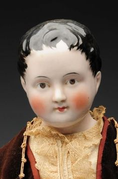 17 Best images about Antique China Head & Parian Dolls on ...