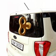 Fab.com | Giant Turnkey Yellow - hilarious car accessory!