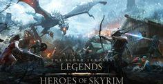لعبة The Elder Scrolls: Legends Heroes of Skyrim متاحاً للهواتف