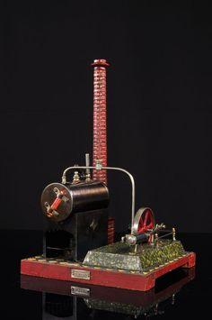 Antique GEB Bing Steam Engine Apprx 1915   eBay