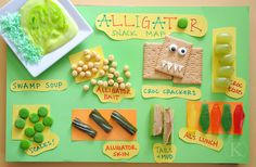 Alligator Snacks! :) Jodi from The Clutter-Free Classroom {www.CFClassroom.com}