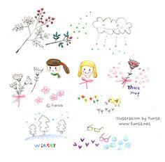illustration, drawing, linedrawing, pen, doodle, doodling, Funsa, 일러스트, 드로잉, 낙서, 스케치북, 펀사