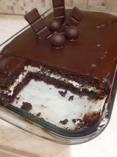 Greek Sweets, Greek Desserts, Baking Recipes, Cookie Recipes, Dessert Recipes, Food Vids, Snap Food, Chocolate Sweets, Food Snapchat