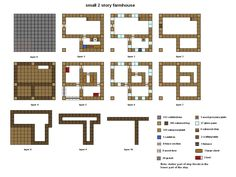 Minecraft floorplan small farmhouse by ColtCoyote on deviantART