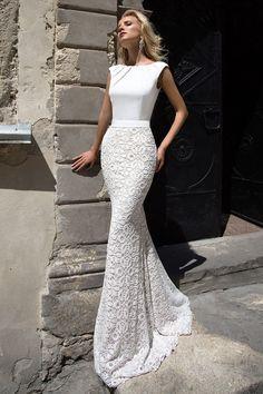 Robe de mariée glamour – Création Andréa
