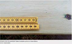 Hvilken av disse to er en meter?