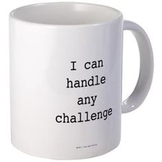 Warrior: Handle All Challenges Mugs