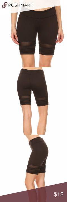 Yoga Mesh Shorts Yoga Mesh Shorts Do your yoga with style and comfort! Shorts