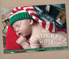 perfect christmas card birth announcementlove the wording cute etsy shop products avery ideas pinterest birth etsy and shopping