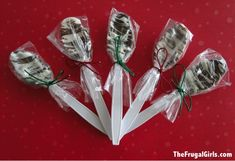Chocolate Covered Spoons How to Make
