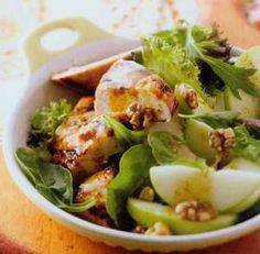 Apple and Chicken Salad http://www.mysaladrecipe.com/apple-and-chicken-salad/