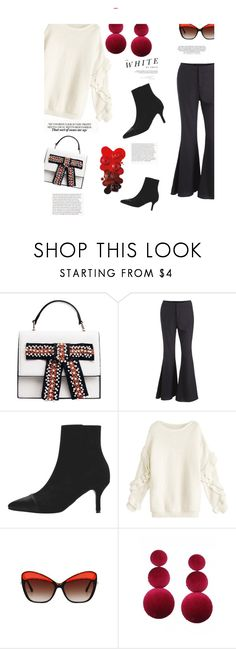 """Black and white"" by stellina-from-the-italian-glam ❤ liked on Polyvore featuring Madara"