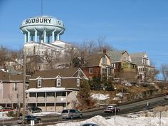 Welcome to the happiest city in Canada: Sudbury, Ontario. This Is What Life In The Happiest City In Canada Is Like Sudbury Canada, Places Ive Been, Places To Go, Ontario Travel, Lake Huron, Water Tower, Beautiful Places To Visit, Adventure Is Out There, What Is Life About