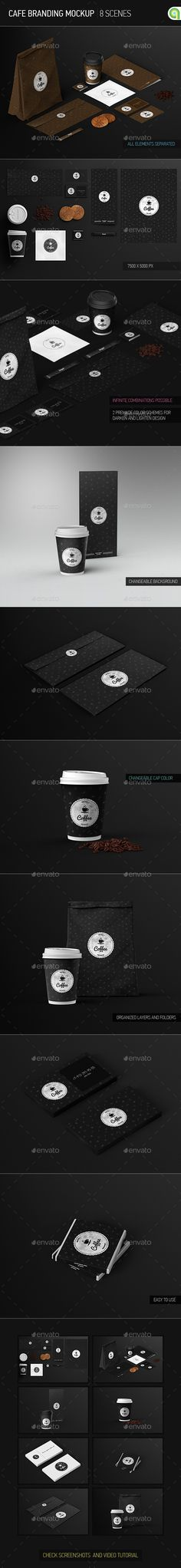 Cafe Branding / Identity / Coffee cup Mock-Up | Download: http://graphicriver.net/item/cafe-branding-identity-coffee-cup-mockup/9341184?ref=ksioks