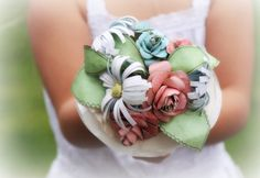 awesome paper boquet!