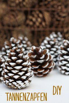 HerzStück - Tannenzapfen DIY, Pine cone DIY