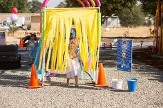 Summer fun is here with a kiddie car wash. This PVC Pipe car wash sprinkler is great for kids to run through or ride bikes and trikes. Sprinkler, Cool Diy, Kid Car Wash, Cars Birthday Parties, 4th Birthday, Outdoor Classroom, Diy Car, Pvc Pipe, Pipes