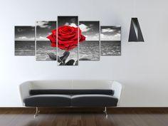 Obraz Róża #rose #art #wall #decor