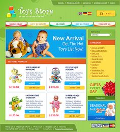 Online Shop osCommerce Templates by Bora